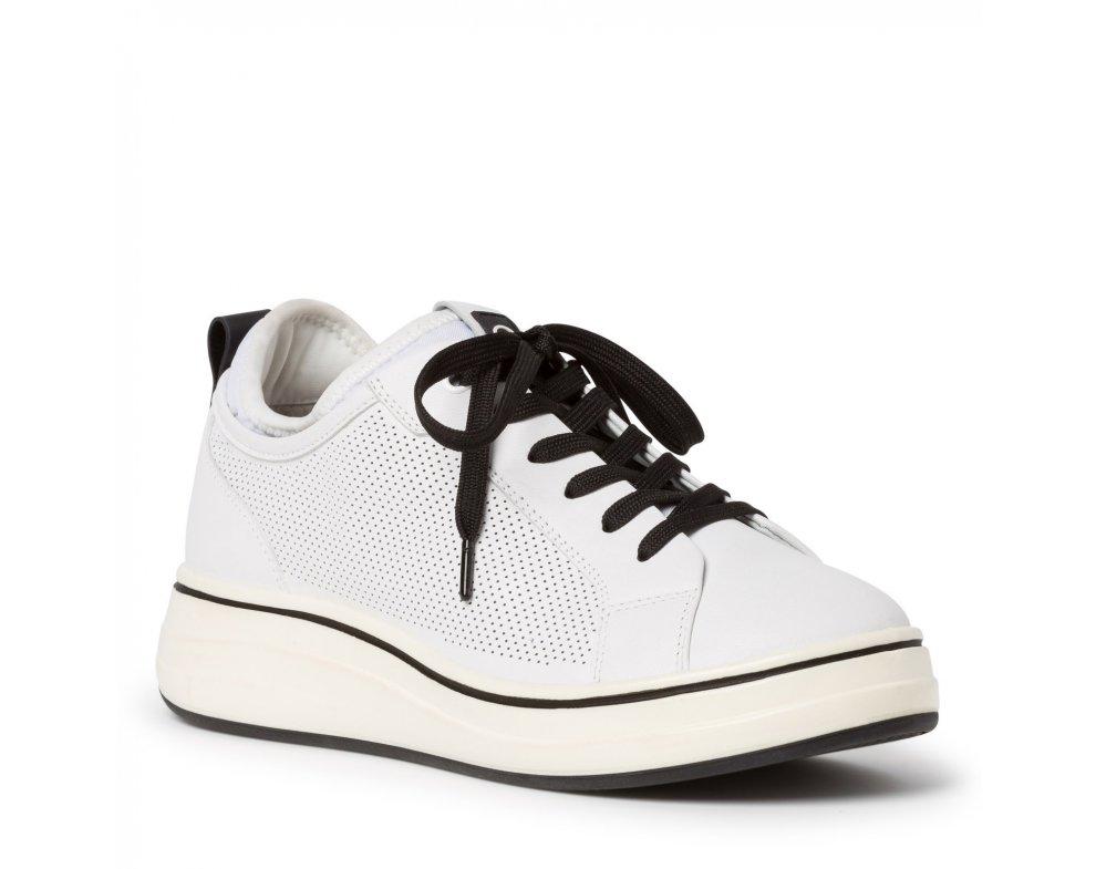 Tenisky 1-1-23716-24 WHITE/BLACK