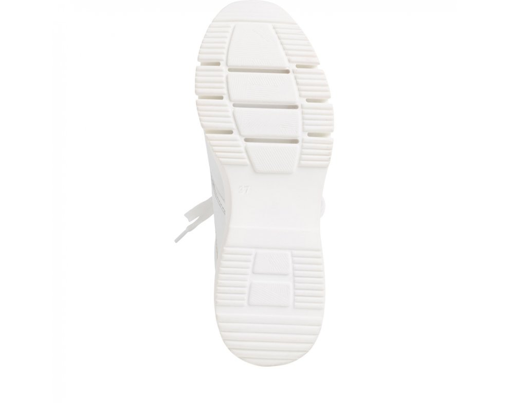 Tenisky 1-1-23790-24 196 WHITE LEA/MET