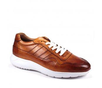 Pánske sneakersy SA2605 CAMEL