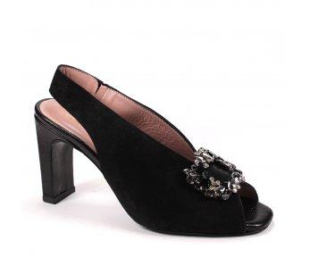 Elegantné sandále MFS20480 BLACK