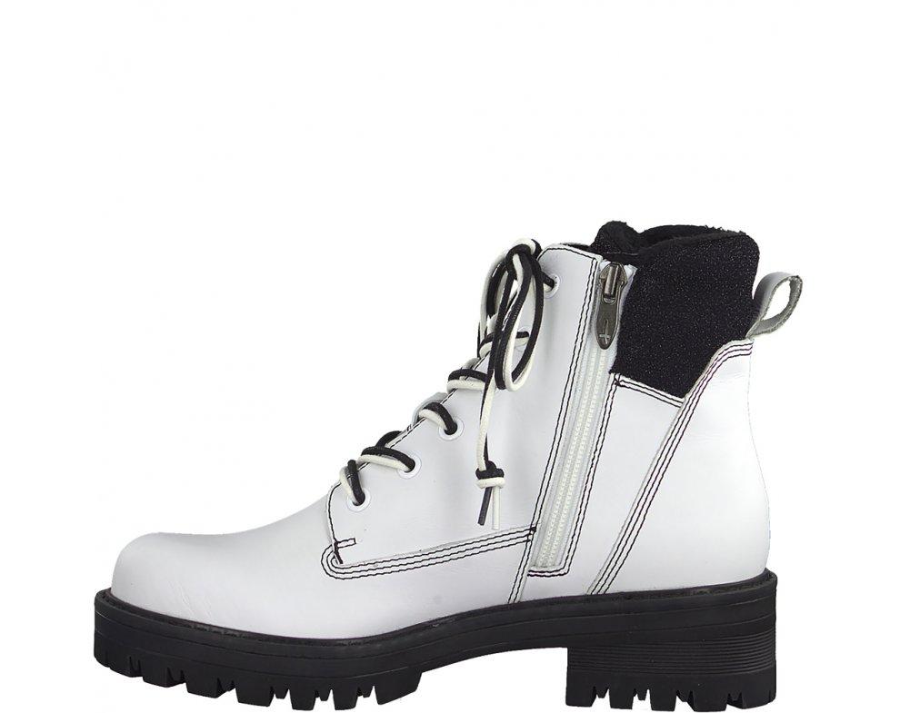 Workery Tamaris 1-1-25214-21 125 WHITE/BLACK