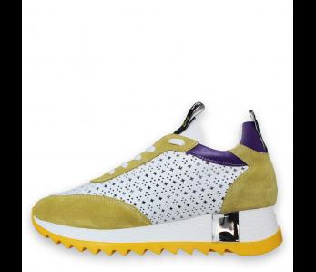 Sneakersy AQ12175-218-560 LIMON/LILA
