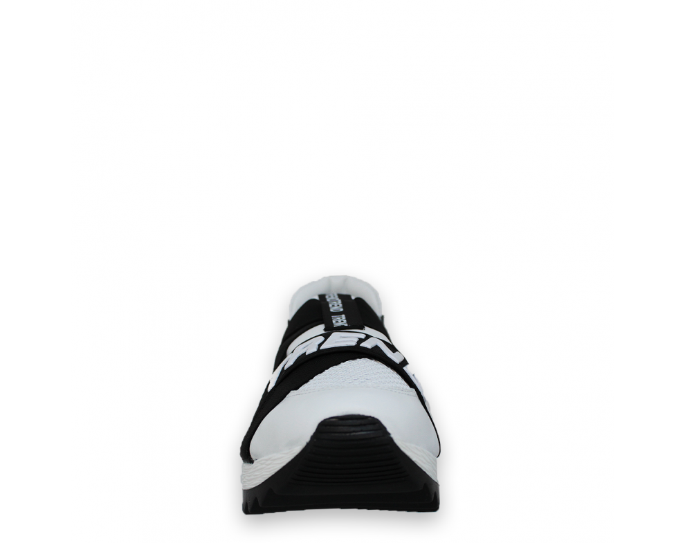Sneakersy AQ12243-530-72 WHITE/BLACK