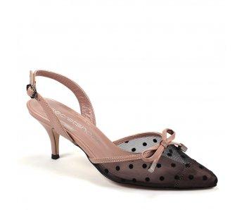 Elegantné sandále MFS20582 TAUPE