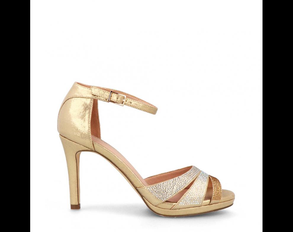 Spoločenské sandále MB21221 ORO/GOLD