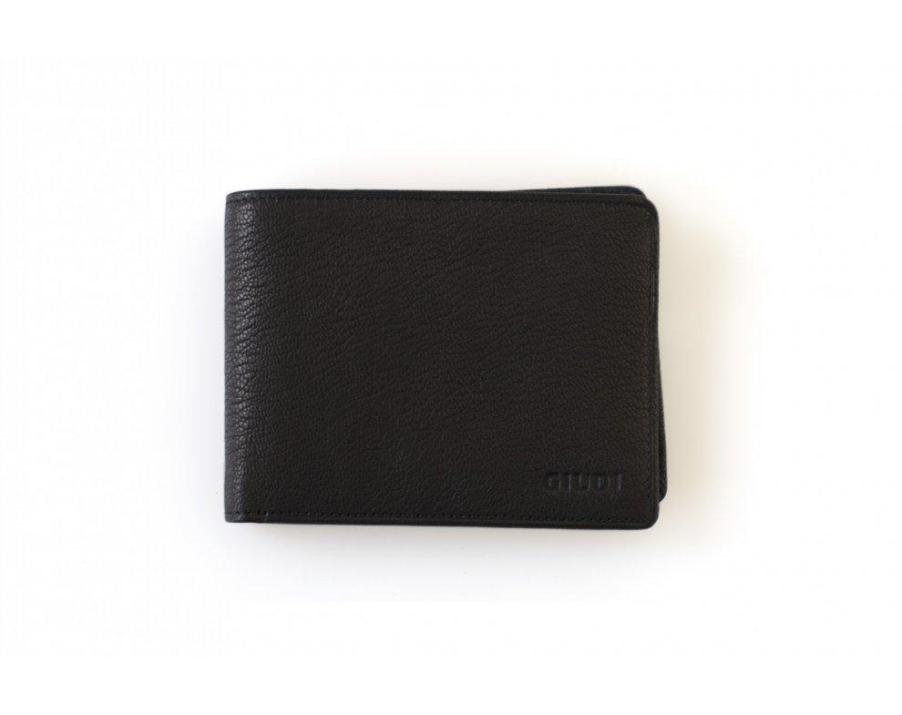 Peňaženka GIUDI G7439PL-03 Nero