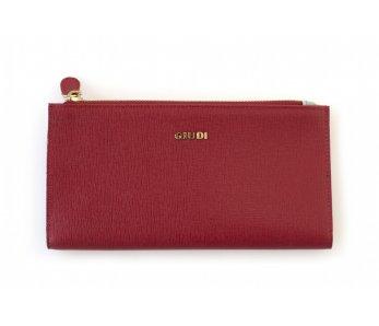 Peňaženka GIUDI G7257CRFCOL-LN Rosso
