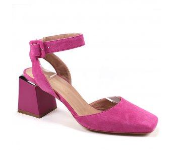Dámske sandále MF21800 FUXIA