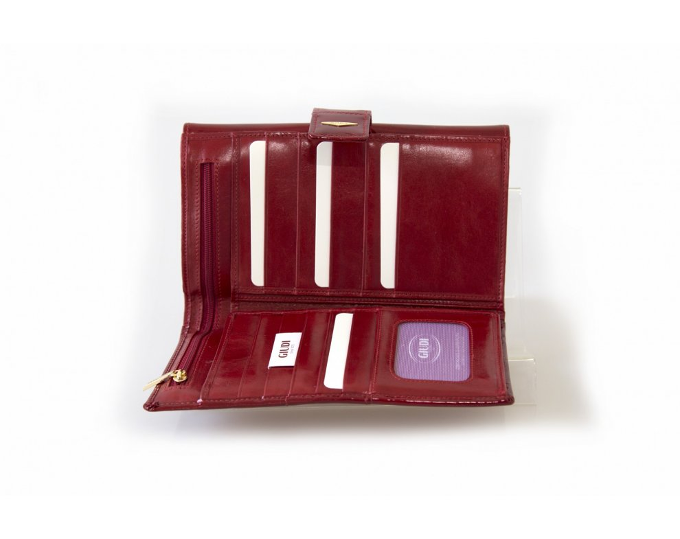 Peňaženka GIUDI G6906TRPGVL-05 Rosso