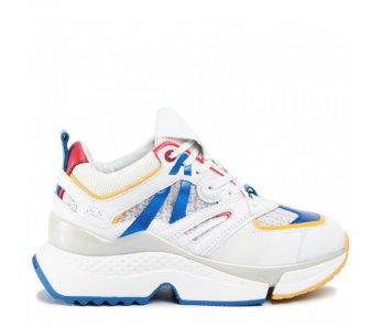 Sneakersy KL61637 41M WHITE/MULTI