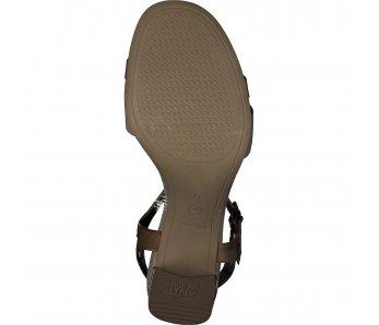 Sandále 1-1-28033-24 392 COGNAC COMB