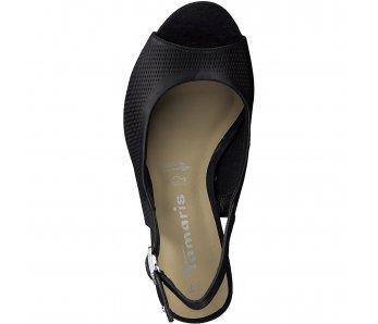 Sandále 1-1-28041-24 001 BLACK