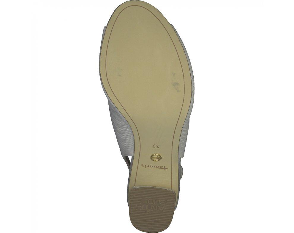 Sandále 1-1-28041-24 100 WHITE