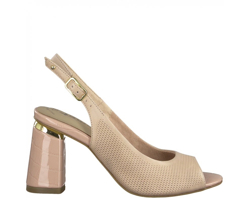 Sandále 1-1-28041-24 521 ROSE