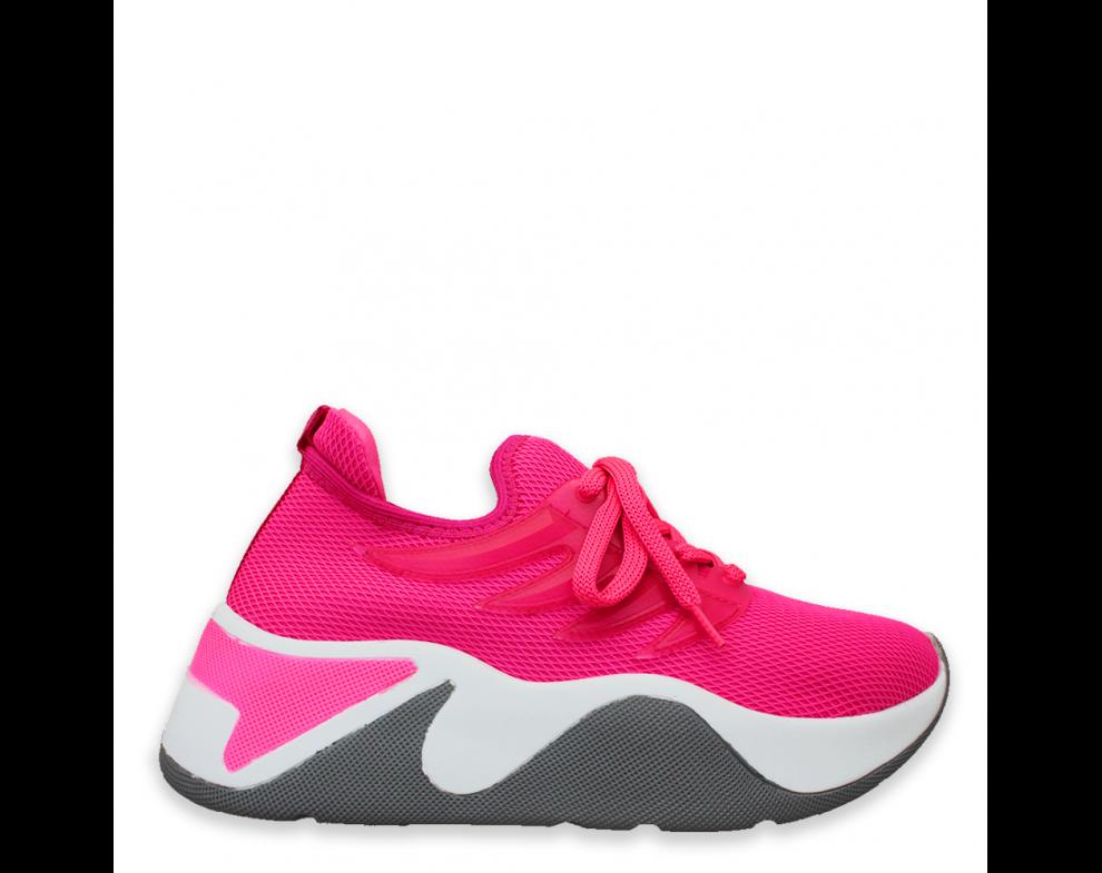 Sneakersy SNMK-1-1 FUXIA