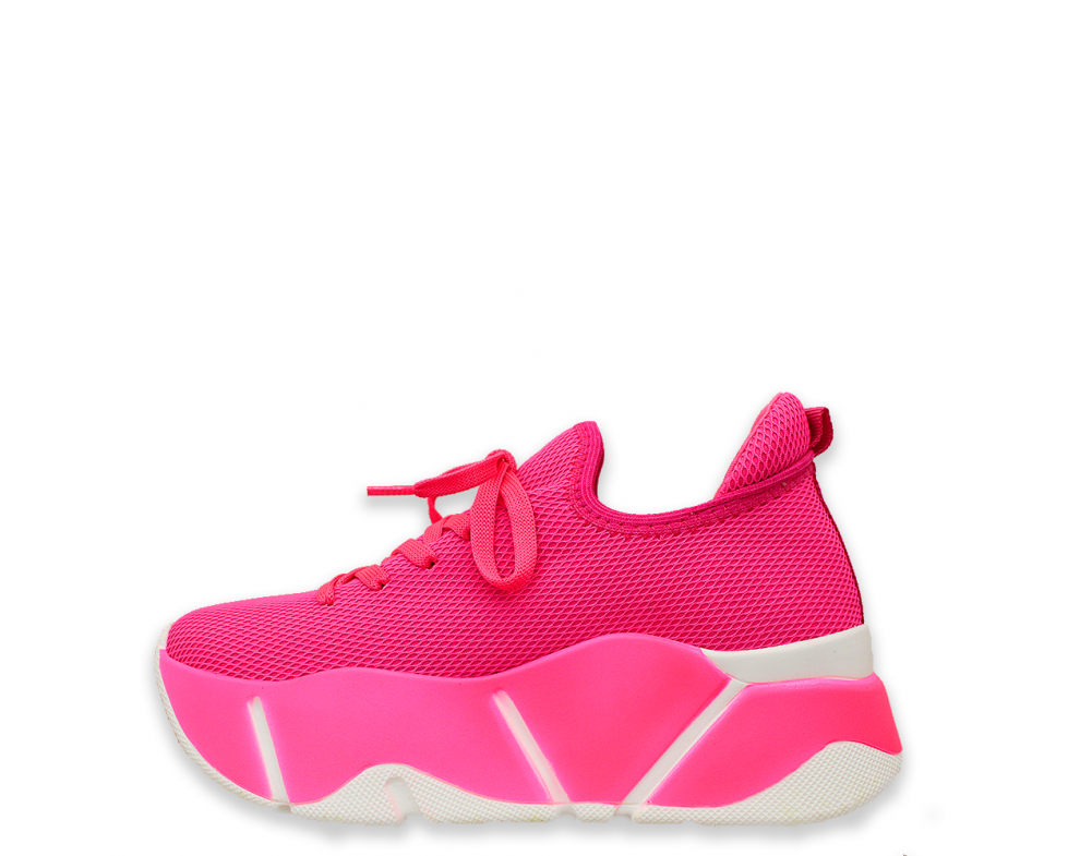 Sneakersy SNMO86-1 FUXIA