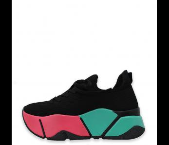 Sneakersy SNMO86-1 BLACK