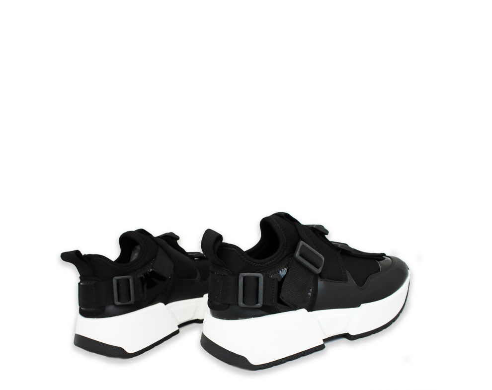 Sneakersy MO105-W-3 BLACK