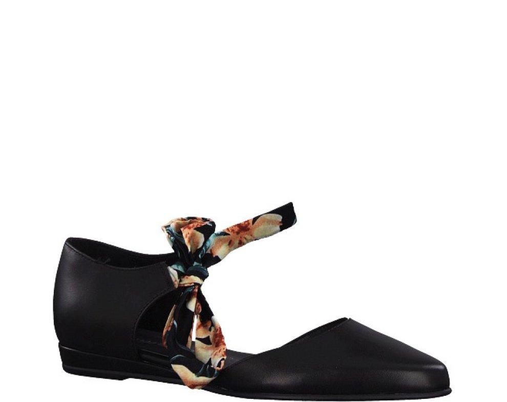 Sandále Tamaris 1-1-24230-32 003 BLACK LEATHER