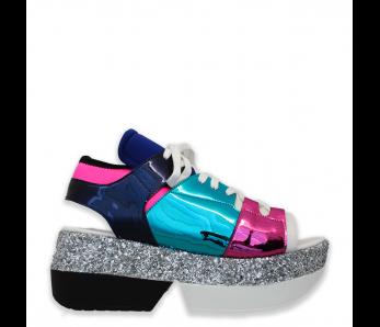 Sandále MO87-4 WHITE/MULTI