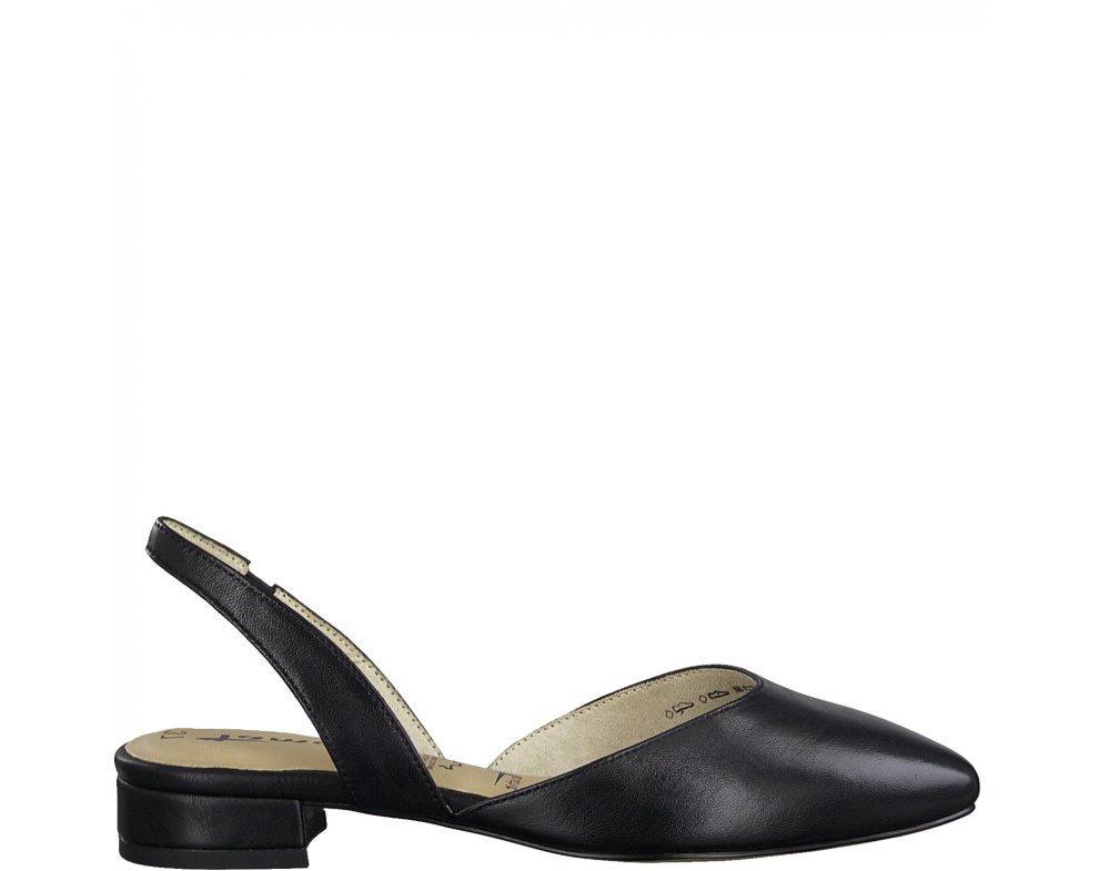 Sandále 1-1-29401-24 003 BLACK LEATHER