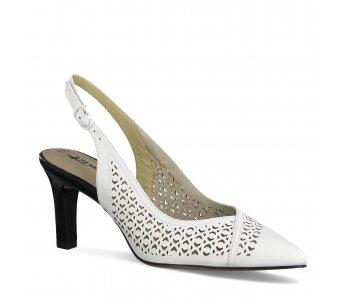 Sandále 1-1-29610-24 197 WHITE COMB