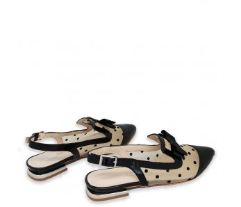 Sandále AK025-366 BLACK