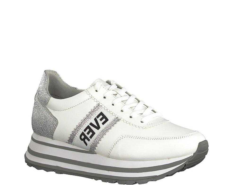 Sneakersy Tamaris 1-1-23737-22 191 WHITE/SILVER
