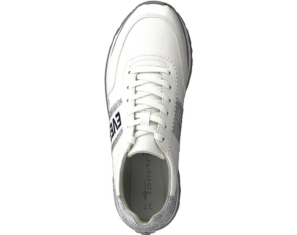 Sneakersy Tamaris 1-1-23737-22 191 WHITE/SILVER