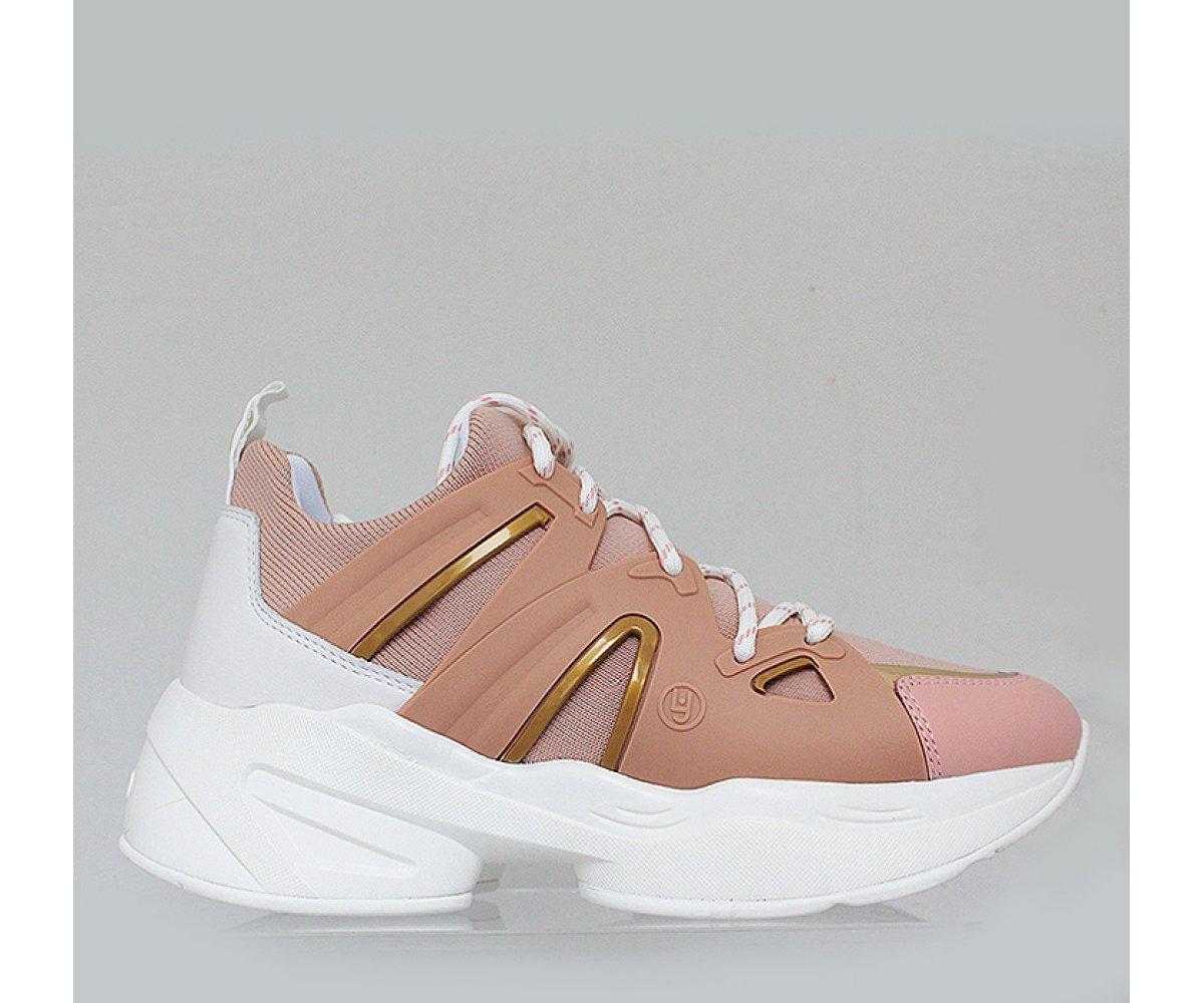 Sneakersy LIU JO B19037TX03831406 PEACH  2466cbc08d8