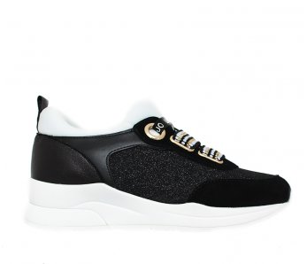 Sneakersy LIU JO B19003TX03000054 BLACK/WHITE