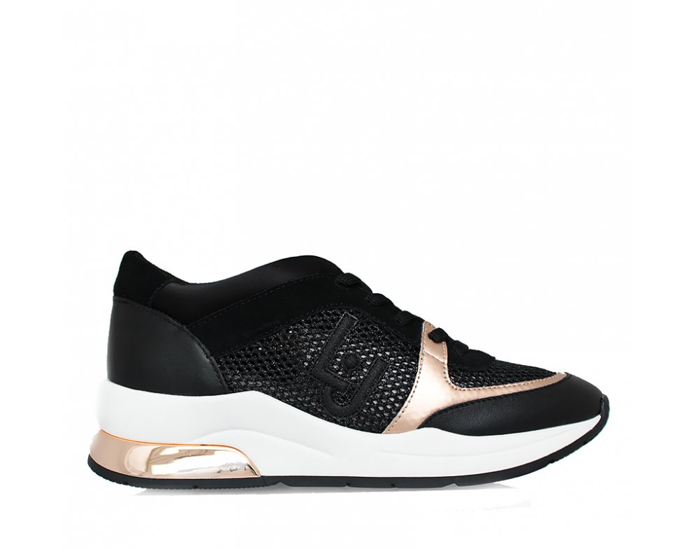 Sneakersy LIU JO B19007TX03222222 BLACK