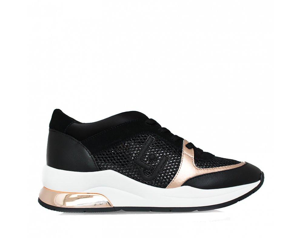 Sneakersy LIU JO B19007TX03222222 BLACK