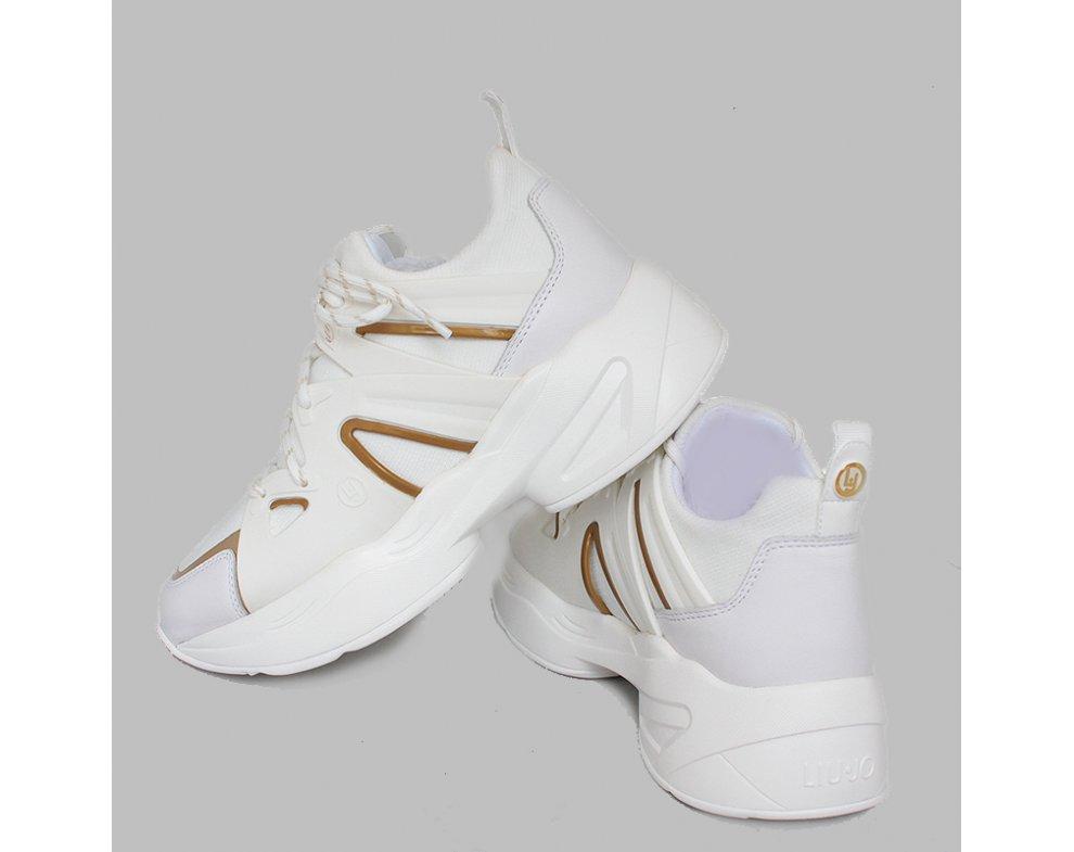 Sneakersy LIU JO B19037TX03801111 WHITE