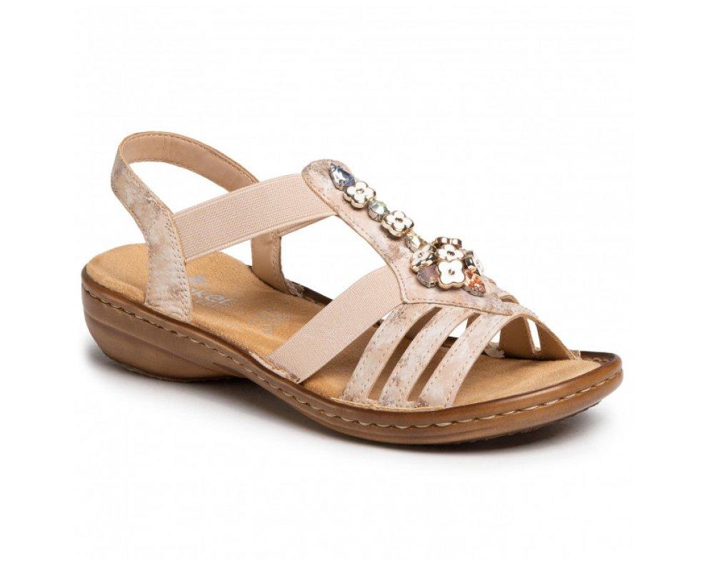 Sandále RIEKER 60855-31