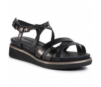 Sandále 1-1-28207-24 001 ČIERNE