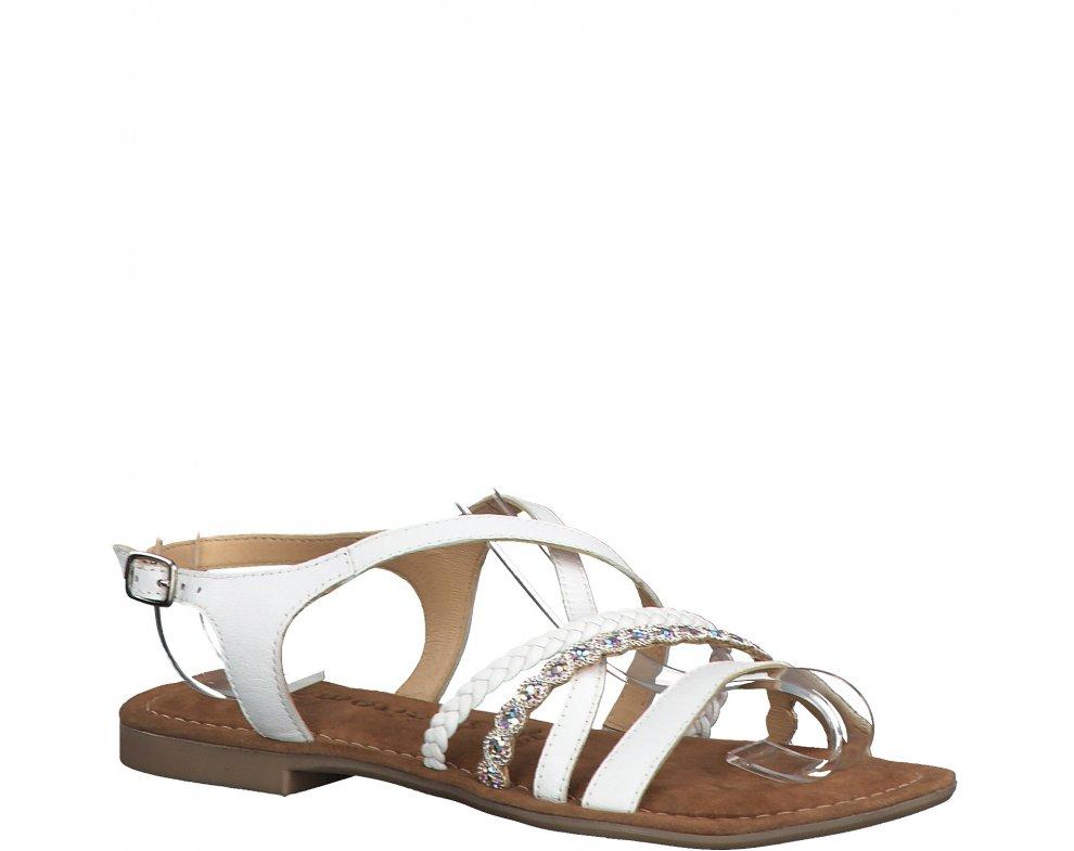 Sandále 1-1-28146-24 100 WHITE