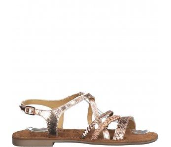Sandále 1-1-28146-24 901 COPPER
