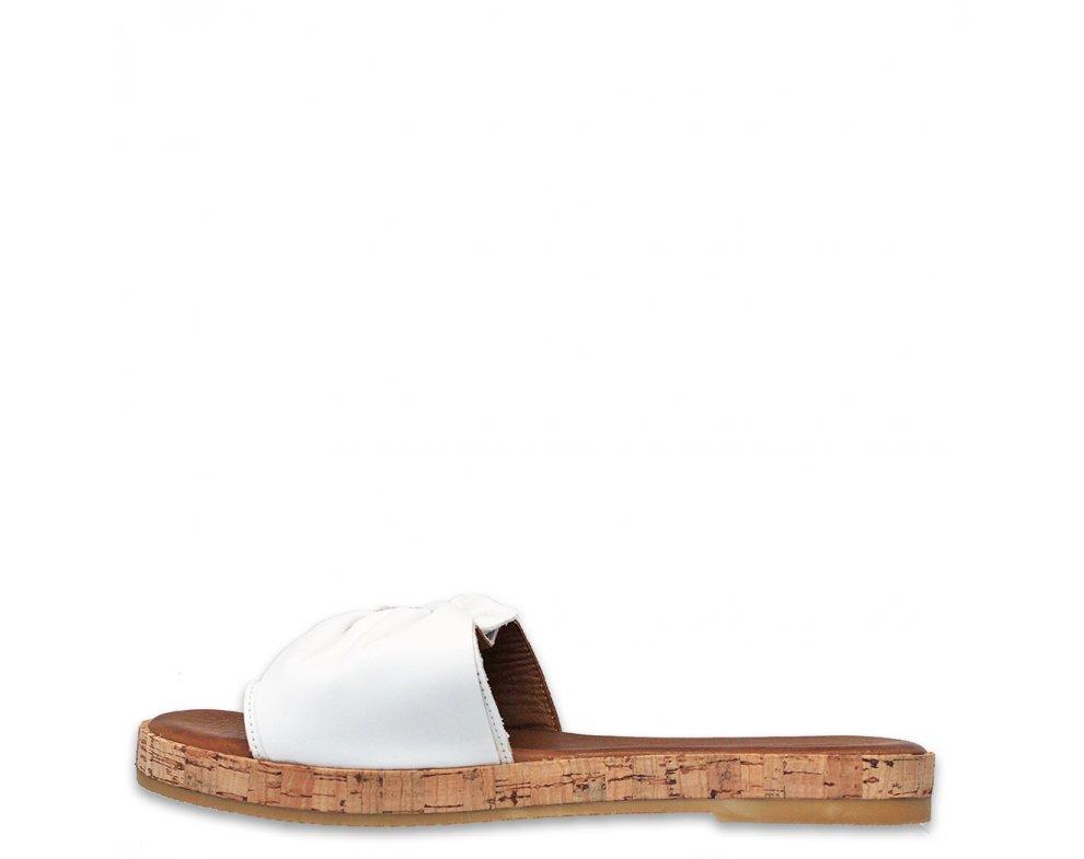 Šľapky AL1001 WHITE