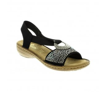 Sandále RIEKER 608Y4-00