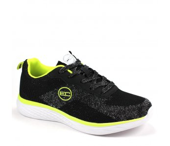 Dámske sneakersy CSW115360 BLK/FL YELLOW