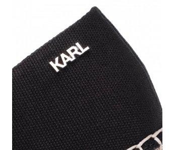 Espadrilky KL80171 900 BLACK CANVAS