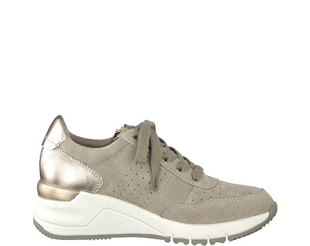 Sneakersy Tamaris 1-1-23727-22 344 TAUPE COMB