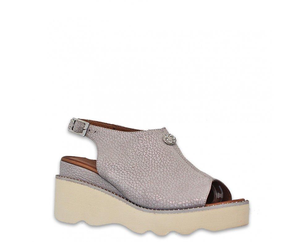 Sandále ML1884 SIVÁ PERLEŤ