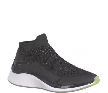 Ponožkové Tenisky Tamaris 1-1-25403-22 029 BLACK CRYSTAL