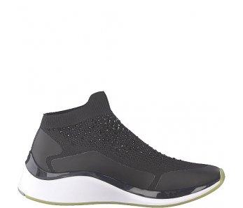 Ponožkové Sneakersy Tamaris 1-1-25403-22 029 BLACK CRYSTAL