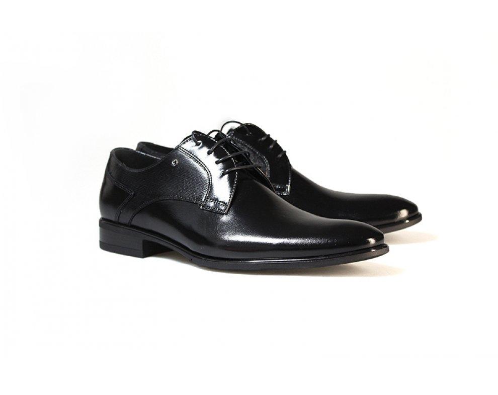 Sebastiano spoločenská obuv ZEFC7333-0017-M4S01 ČIERNA
