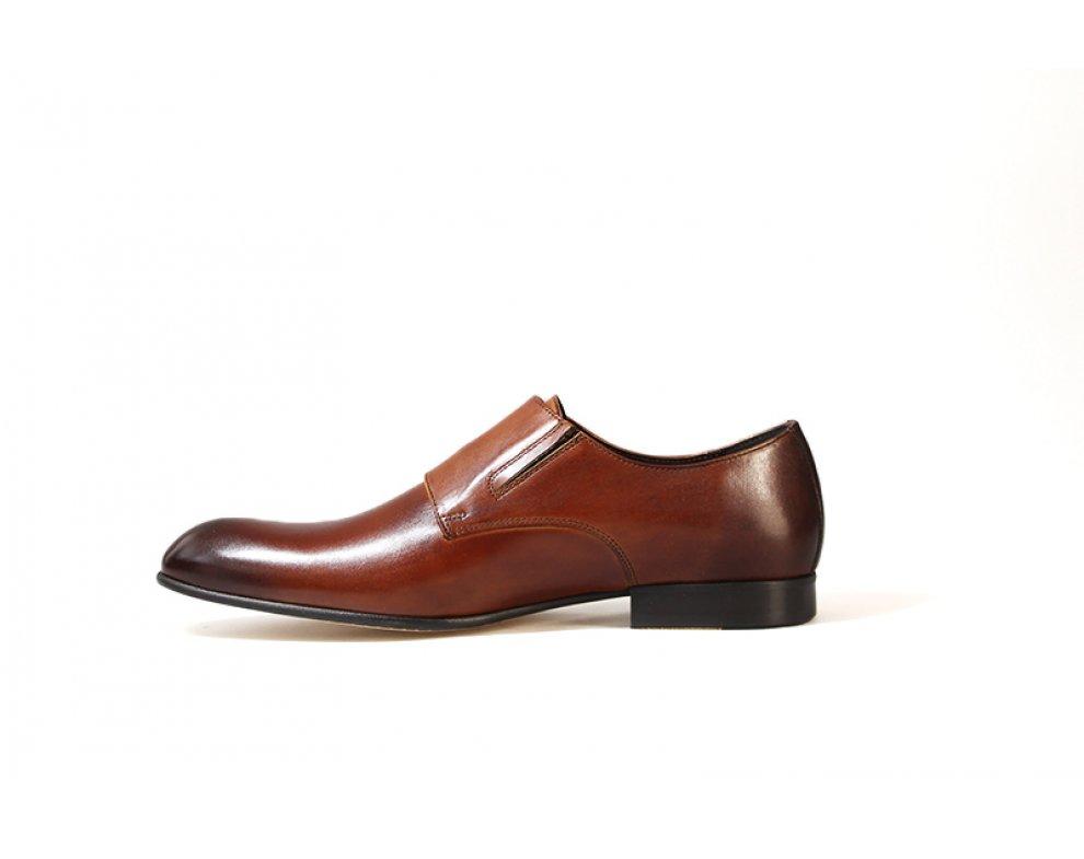 Sebastiano spoločenská obuv ZEOC6155-0949-00S04 HNEDÁ