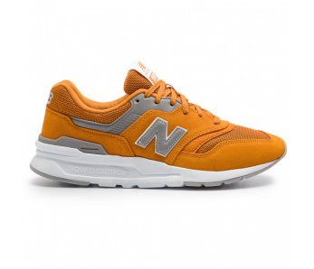 Sneakersy NEW BALANCE CM997HCF ORANGE