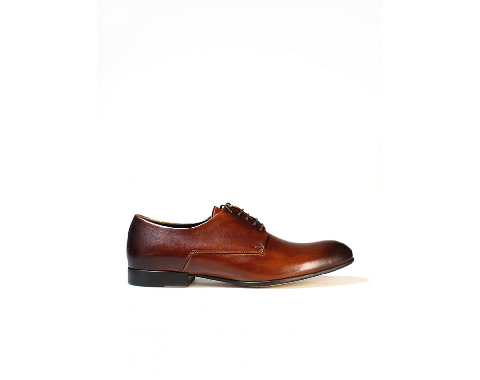 Sebastiano spoločenská obuv ZEOC6305-0949-00S04 HNEDÁ